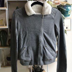 Cozy moto sweatshirt